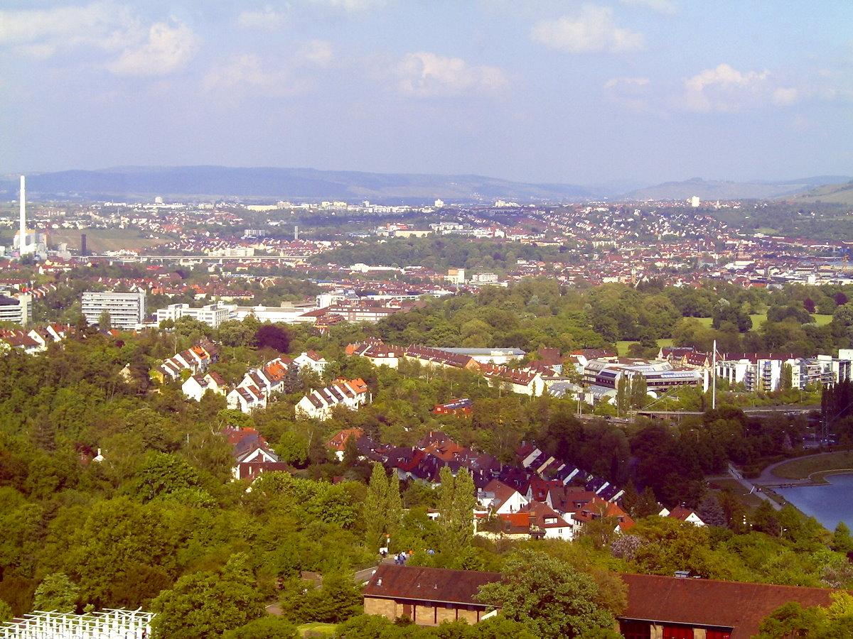 Turmblick über Stuttgart