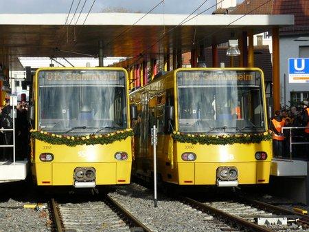 Stadtbahneinweihung U15