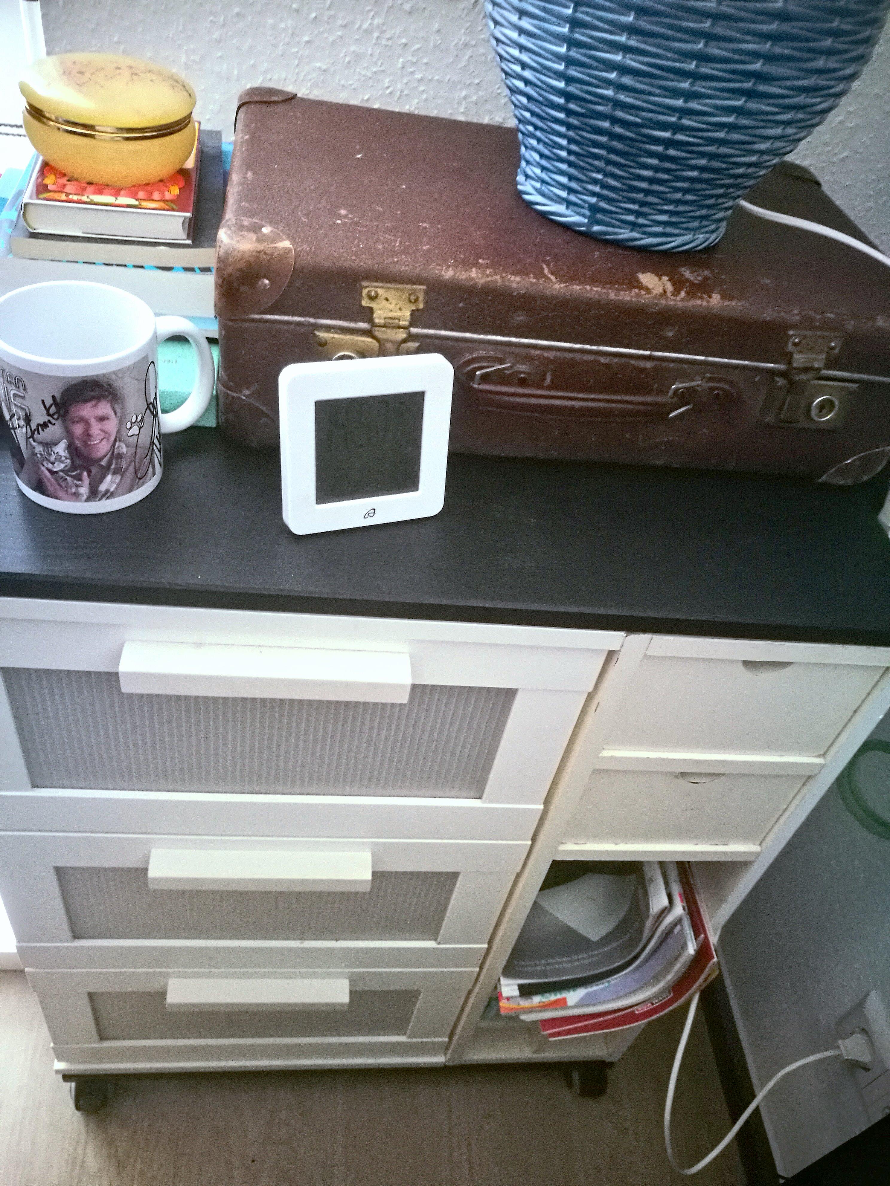 {Creadienstag} Mein neuer alter Nachttisch