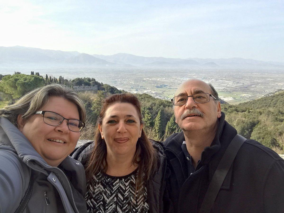 Familienbesuch in Italien, Februar 2019 (Teil 1)